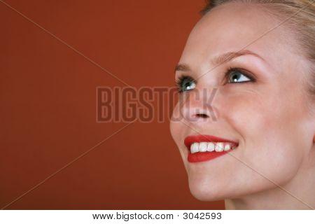 Cara de mulher bonita
