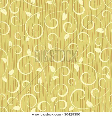 floral abstract seamless background pattern