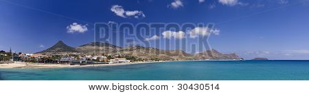 Porto Santo Island Panorama
