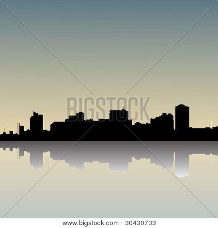 Skyline-dusk