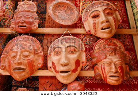 Mayan Clay Masks