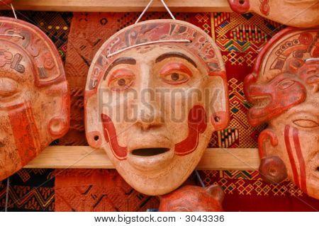 Mayan Clay Masks