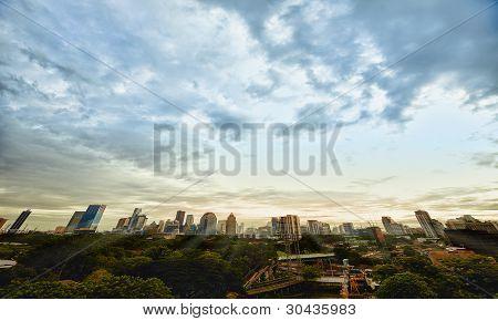 Evening Metropolis - Bangkok