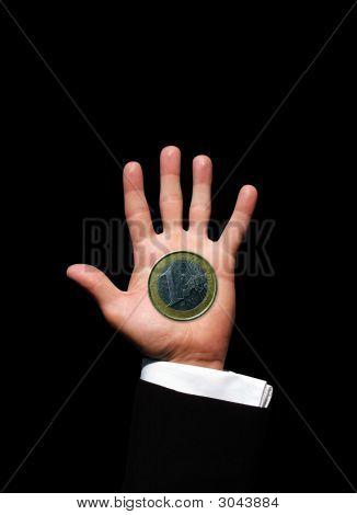 One Euro Hand