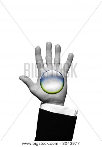 Crystal Ball Hand