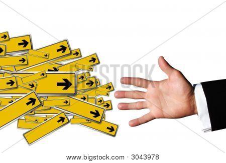 Direction Hand