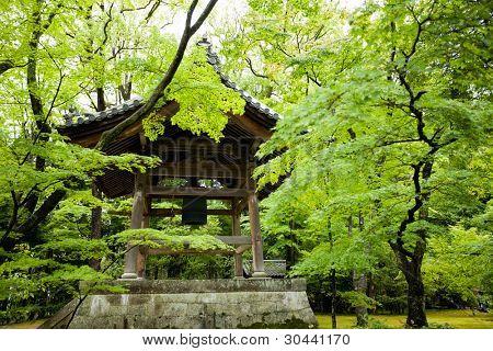 Belfry. Kinkakuji Temple(Golden Pavilion) at Kyoto. Japan