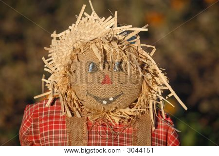 Kids Scarecrow Face