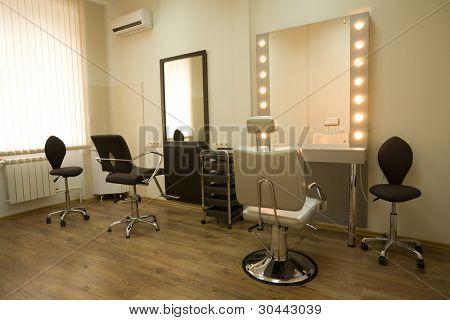 Cabinet makeup artist and hairdresser