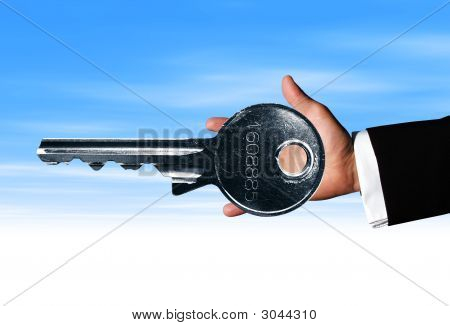 Hand Big Key
