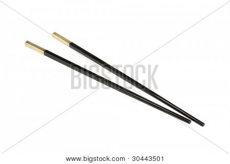 Chopsticks in the eastern traditional cuisine.