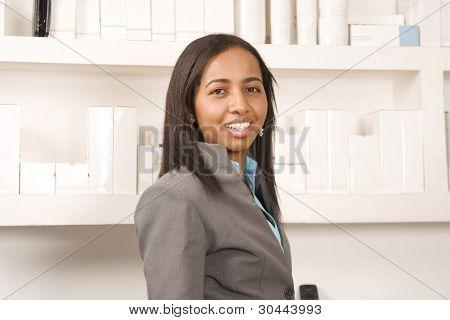 Beautiful Retail Worker