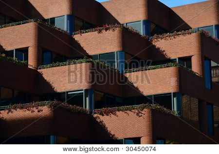 Abstract Balcony Pattern