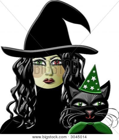 Witch And Wizard Kitty