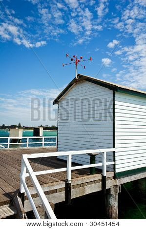 Shed On The Pier