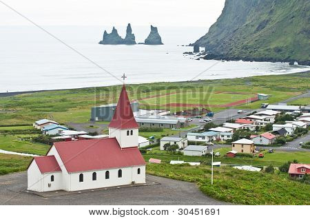 Vik, Small Town In Iceland