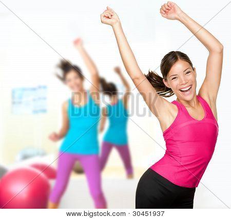Clase de baile fitness