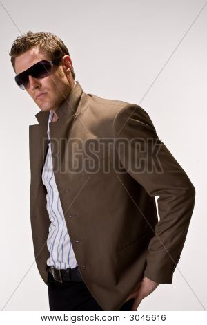 Cool Looking Hunk With Sunglasses
