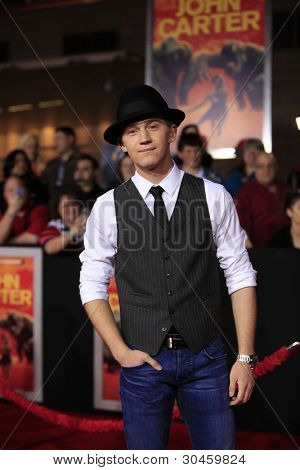 LOS ANGELES, CA - FEB 22: Jason Dolley at the world premiere of 'John Carter' on February 22, 2012 at Regal Cinemas in downtown in Los Angeles, California