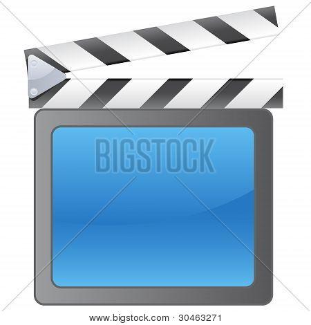 Film slate background