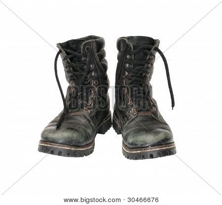 Military Boots.