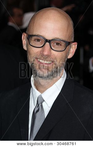 LOS ANGELES - FEB 26:  Moby arrives at the 84th Academy Awards at the Hollywood & Highland Center on February 26, 2012 in Los Angeles, CA.