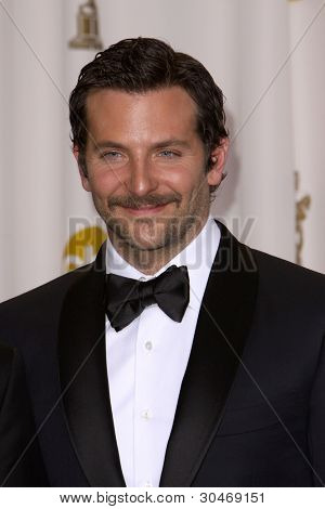 LOS ANGELES - FEB 26:  Bradley Cooper arrives at the 84th Academy Awards at the Hollywood & Highland Center on February 26, 2012 in Los Angeles, CA.
