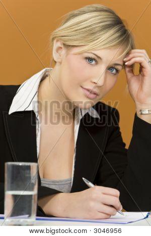 Busy Businesswoman