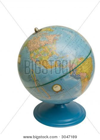 Old Globe with clipping path