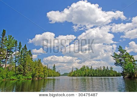 Summer Skies In Canoe Country