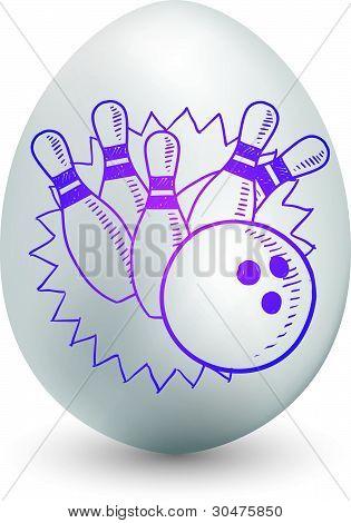 Bowling egg