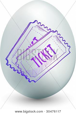 Ticket egg