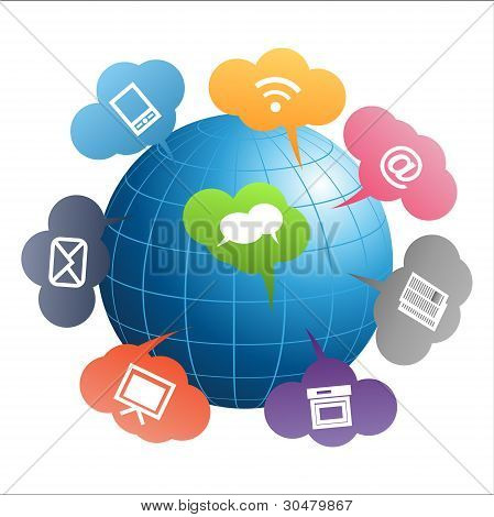 Communication Globe