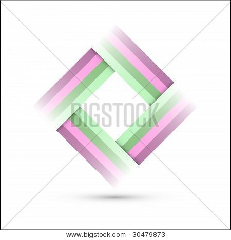 Colored Rectangle Symbol