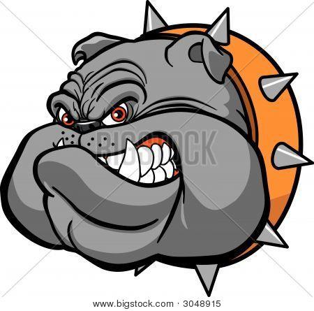 Bulldog Kopf