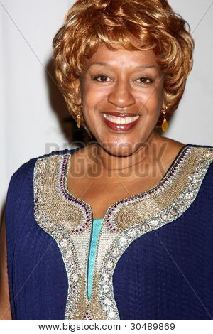 """LOS ANGELES - FEB 26:  CCH Pounder arrives at the """"Night of a 100 Stars"""" Oscar Viewing Party at the Beverly Hills Hotel on February 26, 2012 in Beverly Hills, CA."""