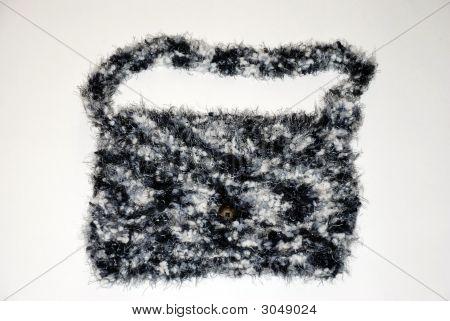 Black White Shoulder Bag