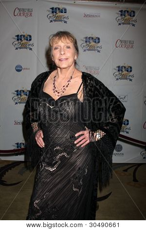 LOS ANGELES - FEB 26:  Stella Stevens arrives at the