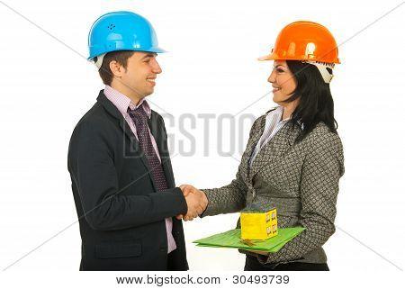 Architekten ein Geschäft