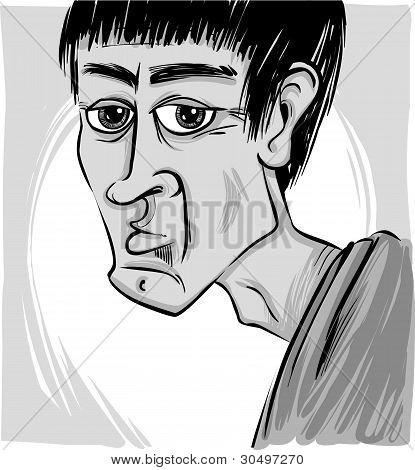 Caricature Of Man