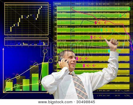 Negócios financeiros. O conceito