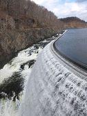 foto of crotons  - dam in cortlandt ny croton gorge park lake river mountains beautiful waterfall - JPG