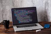 Developer Development Web Code Tech Coding Program Programming Html Screen Script Internet Professio poster