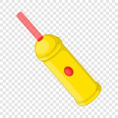 Laser Pointer Icon. Cartoon Illustration Of Laser Pointer Vector Icon For Web Design poster