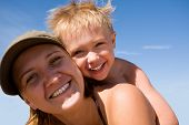 picture of family fun  - Mother and the child  - JPG