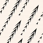 Vector Abstract Geometric Seamless Pattern With Arrows, Diagonal Fading Lines, Tracks, Halftone Stri poster