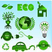 Постер, плакат: Эко иконы set