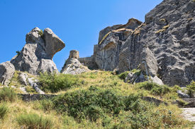 image of saracen  - Perspective of the Saracenic Fortress - JPG
