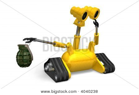 Explosives Handling Robot