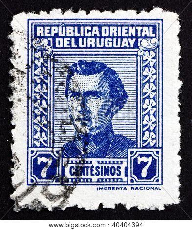 Postage stamp Uruguay 1948 Artigas, General and Patriot